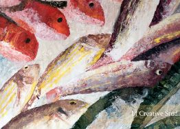 Fishes 2 painting limited edition prints
