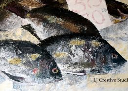 Fishes painting limited edition prints