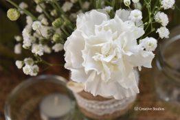 Wedding flowers photography print