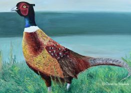 Pheasant painting limited edition prints