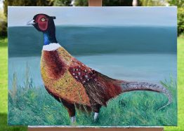 Original Pheasant painting