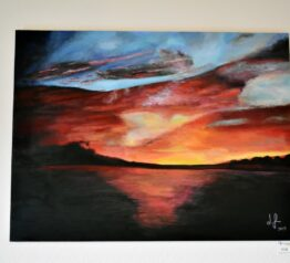 Original sunset painting