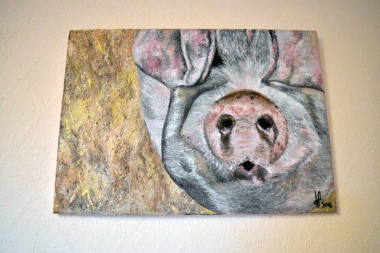 Original George the pig painting