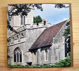 Oakley Church photograph blank greeting card