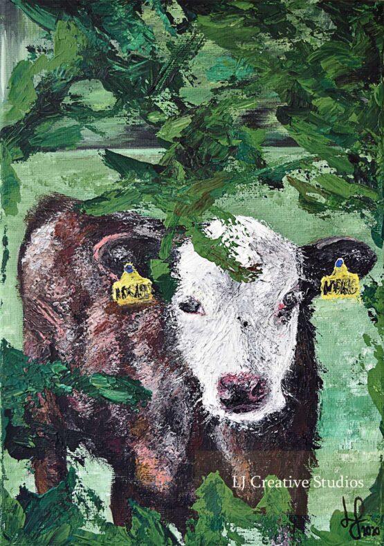 Celia the calf